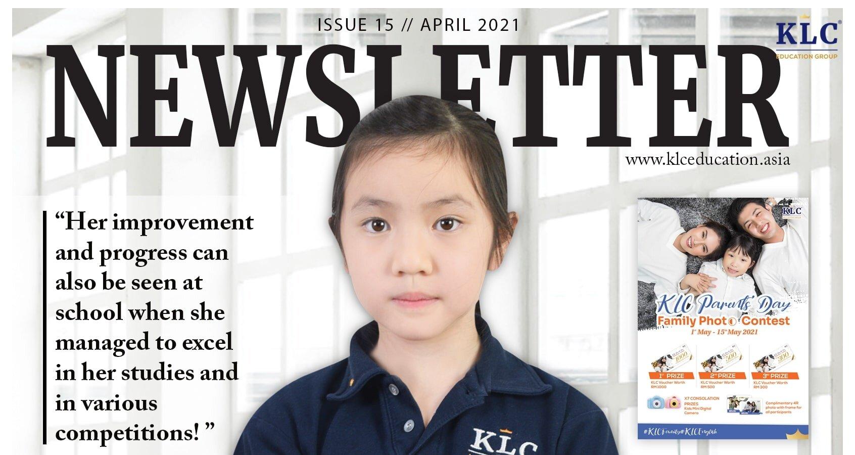 KLC Newsletter April 2021