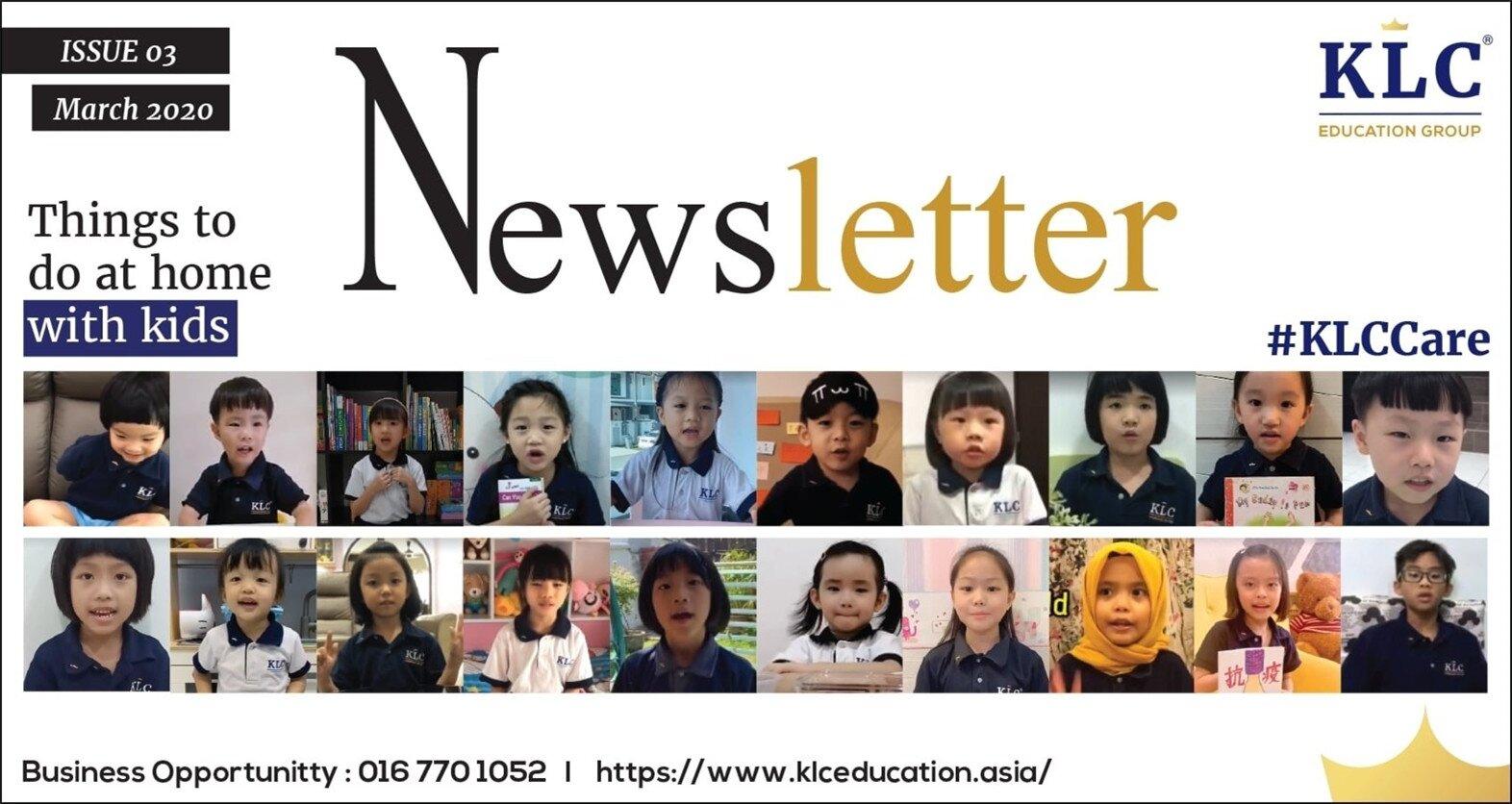 KLC Newsletter March 2020