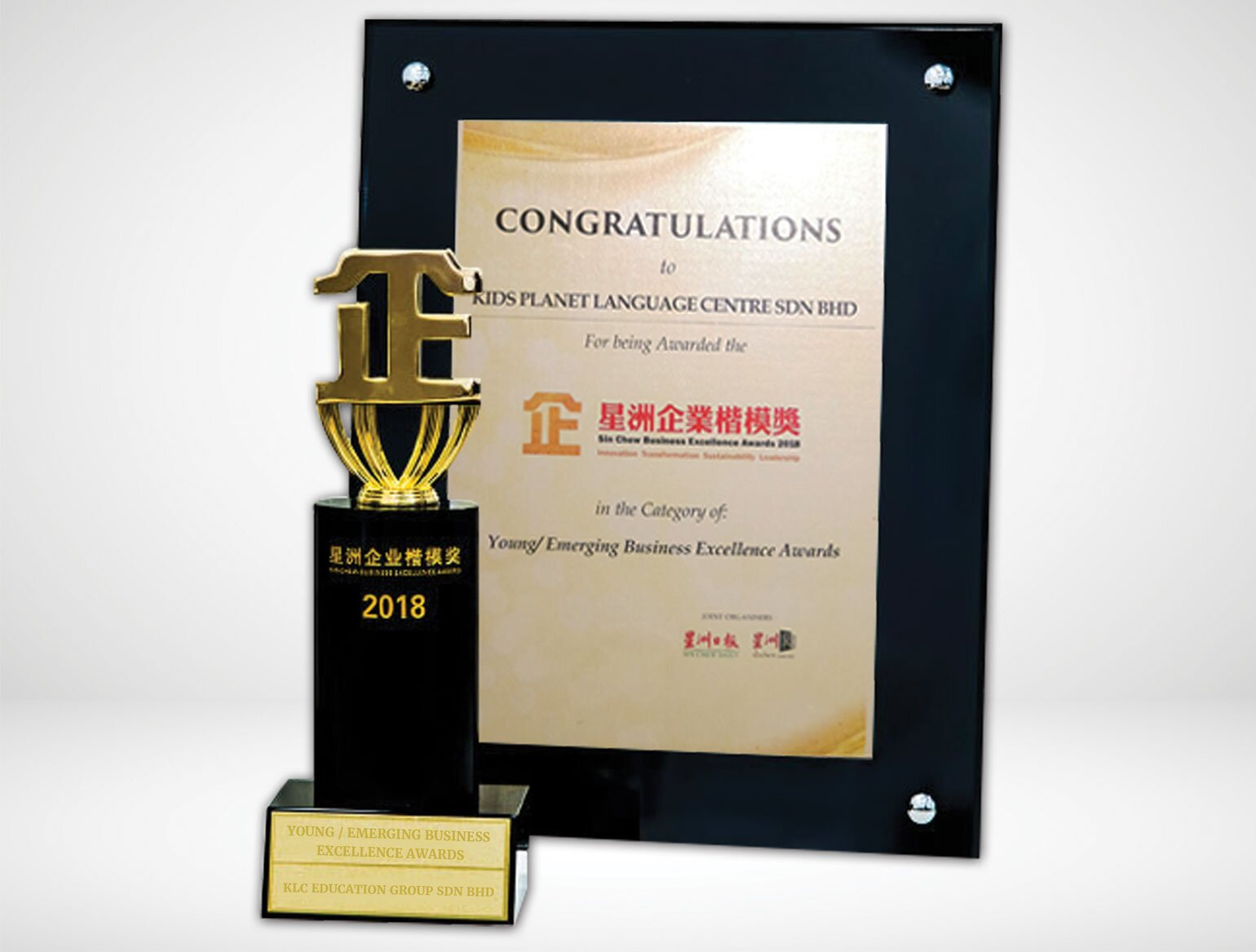 Young / Emerging Business Excellence Sin Chew Awards 2018