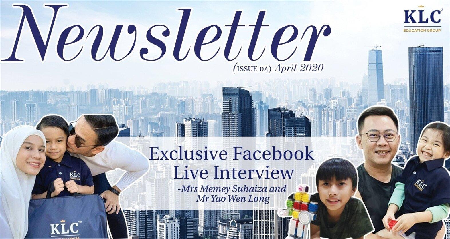 KLC Newsletter April 2020