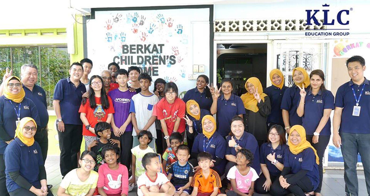 Projek CSR KLC di Rumah Kanak-Kanak Berkat pada 28 November 2018 yang lalu telah berjalan dengan jayanya!