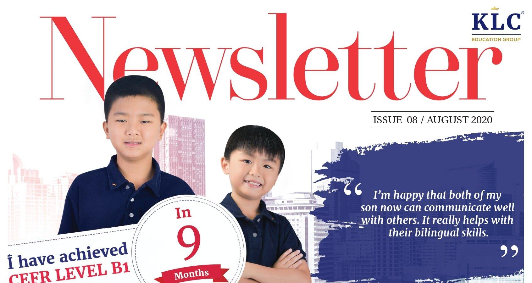 KLC Newsletter August 2020