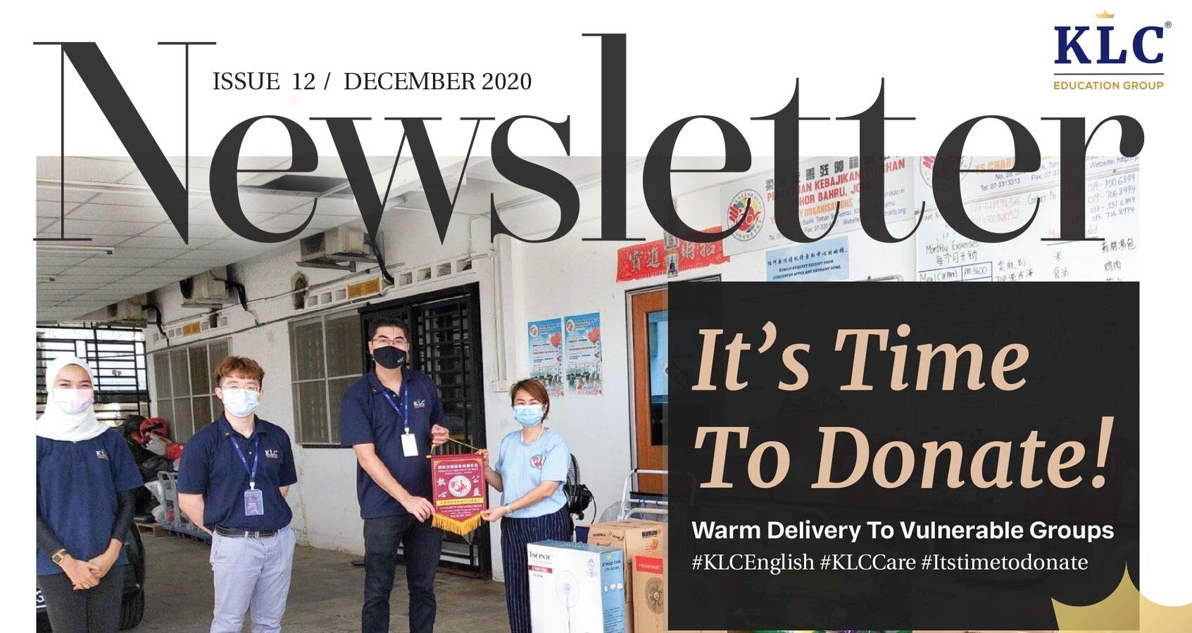 KLC Newsletter December 2020