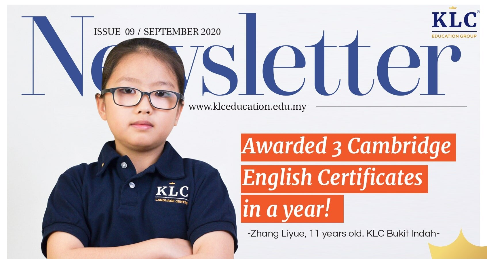 KLC Newsletter September 2020