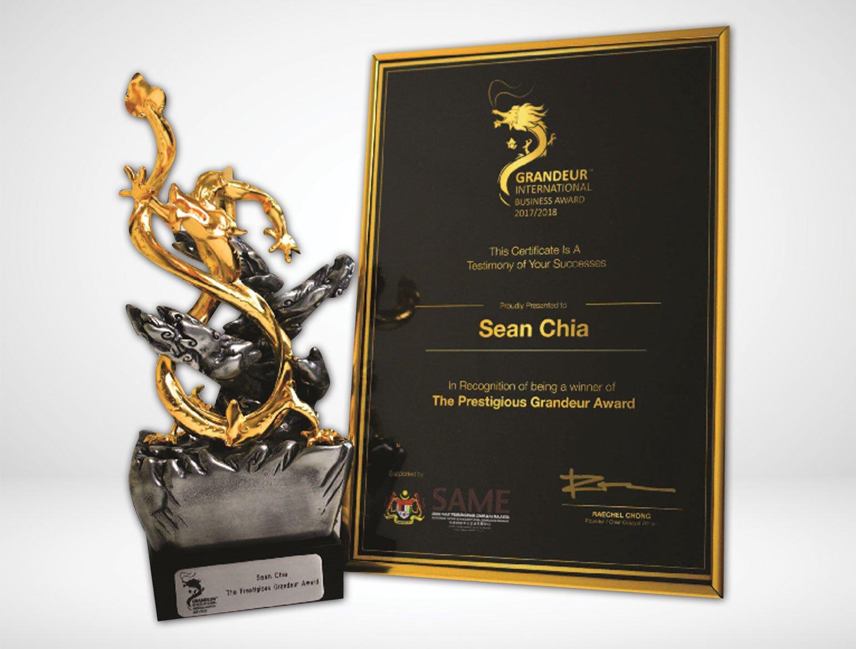 Grandeur International Business Award 2017/2018