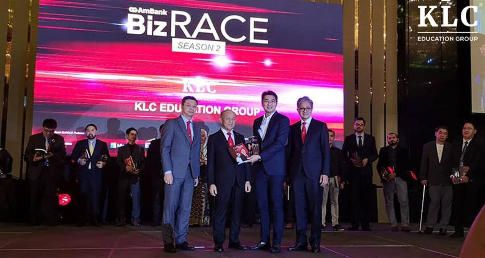 KLC 获得Top 30 Ambankbizrace